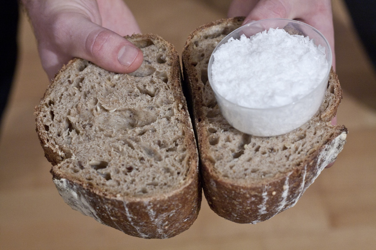 characters in bread of salt Salt is always added to dough -  this can be carried with bread in the absence of salt, dough is sticky, and the resulting bread is unpalatable.