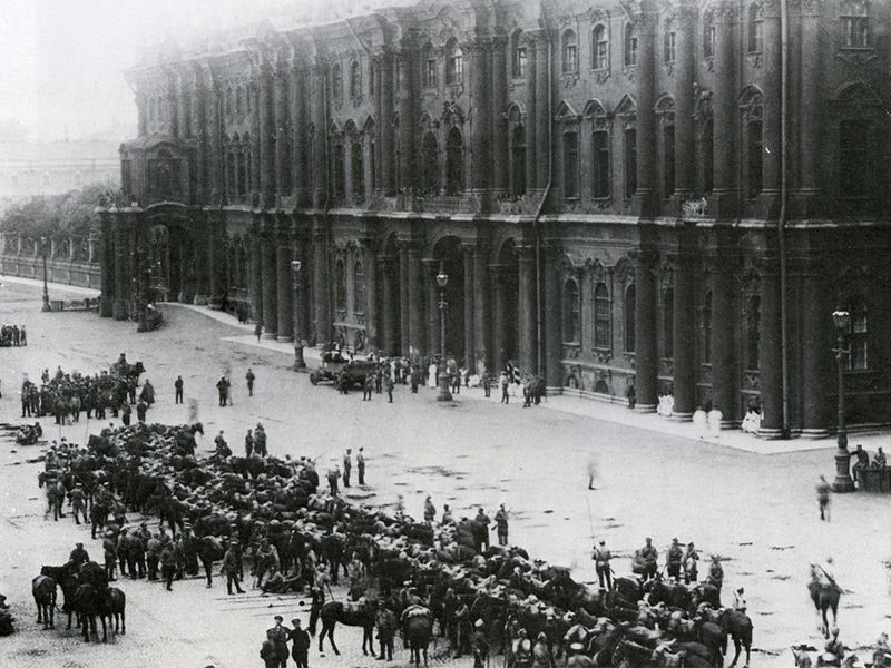 6 Facts of Winter Palace and Russian revolution