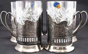 russian glass holder