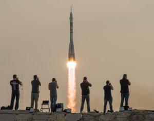 rocket at baikonur