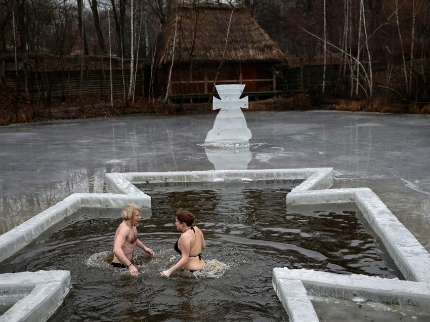 How Russian people celebrate Epiphany?