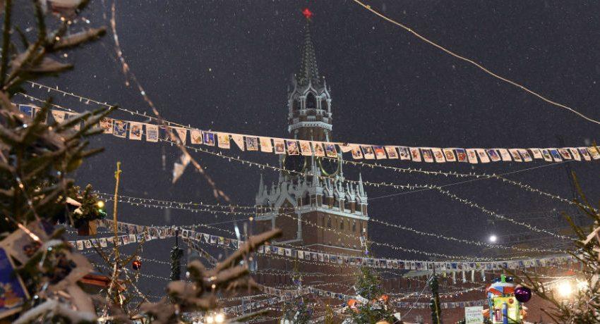New Year Celebration In Soviet Union