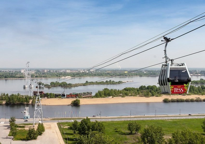 Interesting Things You Should Know About Nizhny Novgorod Cable Car