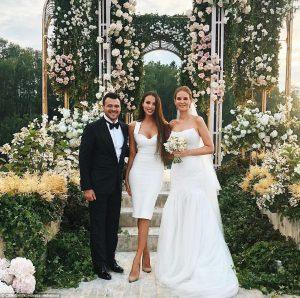 russian newlyweds