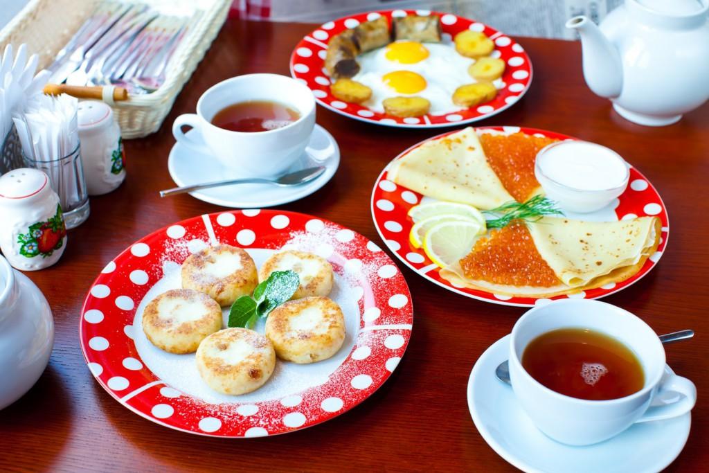 Russian breakfasts