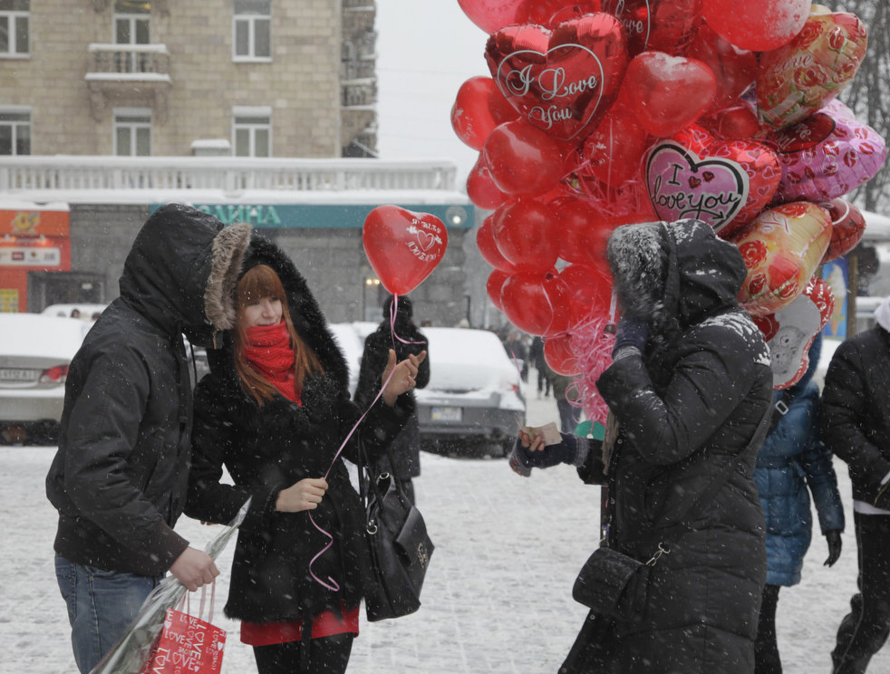 valentine in Russia