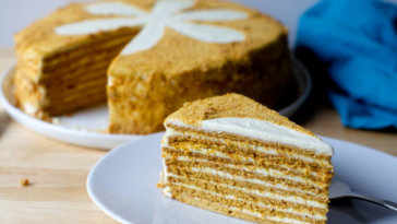 Have you ever heard of Russian medovik cake? Let's find out here!