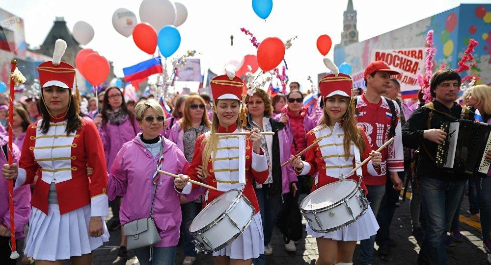 labor day in russia