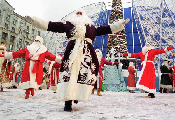 winter festival in russia