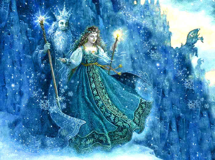 Myths and Legends of The Russian Snow Maiden
