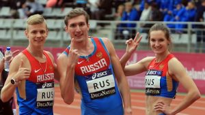 gorgeous russian male athletes
