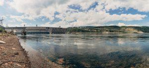 dam nature in krasnoyarsk