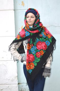 Does the Russian Scarf Can Wear as Veil by the Muslims?