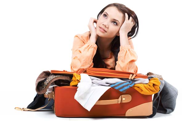 Here Are Female Travel Packing For Summer Holiday in Russia