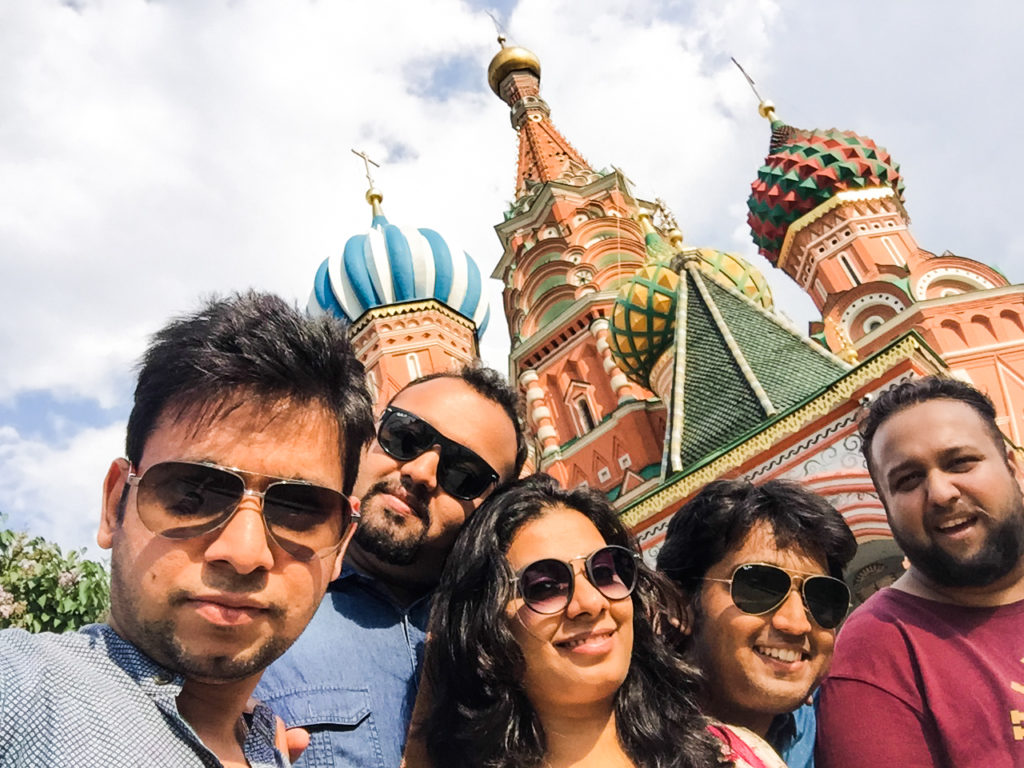 vacation plan to moscow