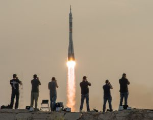 rocket at baikonur