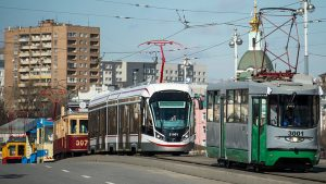 trams in Russia