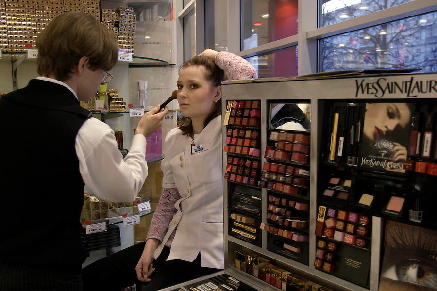 cosmetic shop in Russia