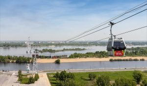 nizhny novgorod cable car