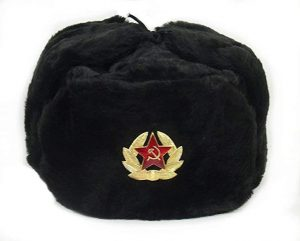 soviet fur hat