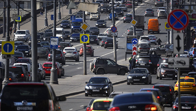 traffic situation in russia