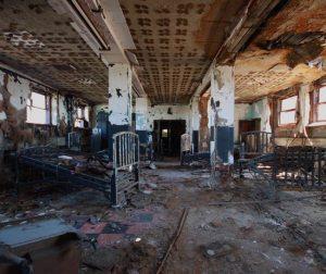 abandoned maternity hospital