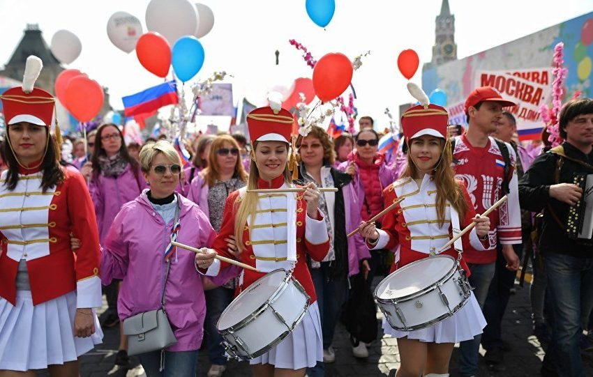 How People Celebrate Labor Day In Russia