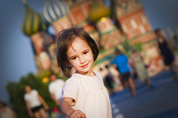 travel to Russia with children