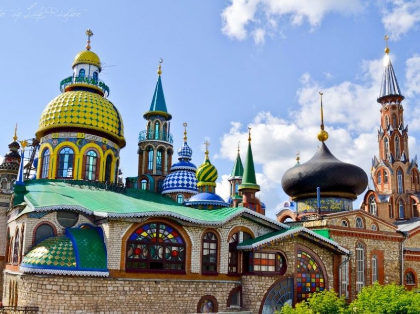 Temple of All Religions We Must Visit in Kazan
