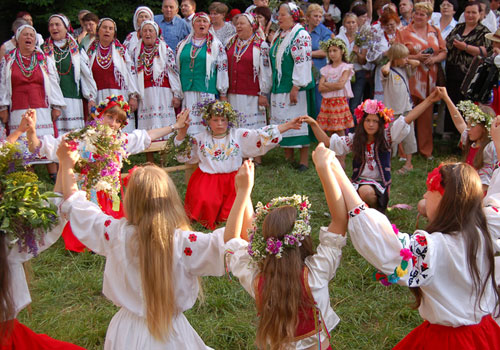 Celebration of Ivan Kupala Night in Post-Soviet Countries