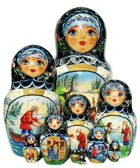 What Are the Differences Between the Nesting Doll and Matryoshka Doll?