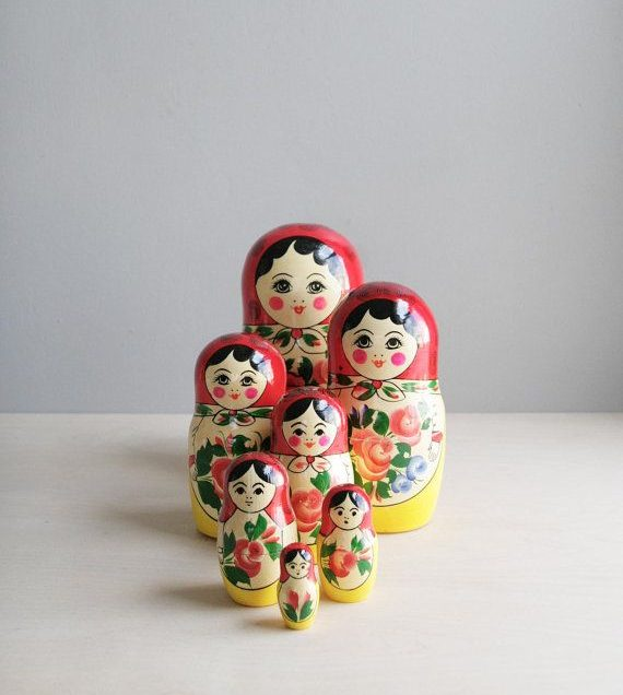 Is Russian Matryoshka The Same with Japanese Kokeshi? Here's to Know