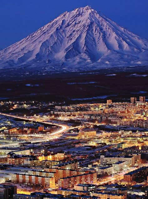 A Russian City of Hills and Volcanoes: Petropavlovsk-Kamchatsky