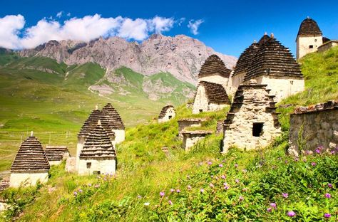 Mysterious City of The Dead in Russia, Is Dargavs a Ghost Town?
