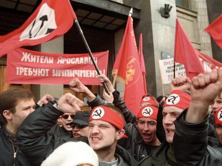 What Happened in Russia from 1993 to 2007: National Bolshevik Party