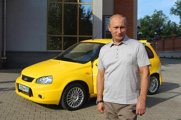 These 6 Cars in The Collection of Vladimir Putin Will Leave You in Awe
