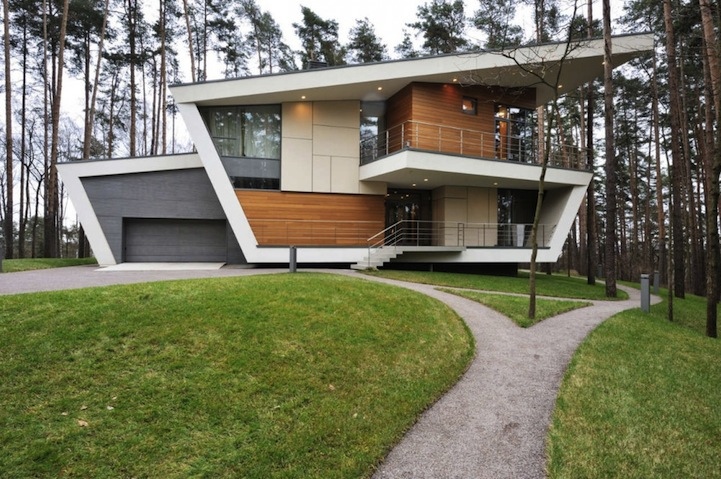 6 Finest House Designs in Russia: Get Inspired by the Varieties