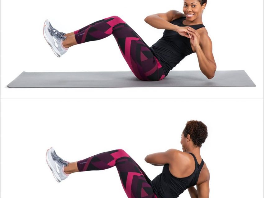 Do You Want A Simple and Effective Exercise? Try Russian Twist, Full of Benefit