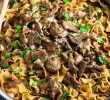 How to Make Beef Stroganoff DIY?